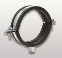 Pipe Cl&s With Rubber : pipe bracket clamp - www.happyfamilyinstitute.com